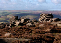 Peak District Derbyshire Moors